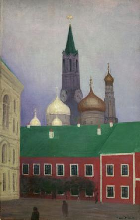F. Vallotton / View of the Kremlin