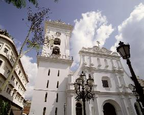 Facade of the Cathedral, executed 1711-13 (photo)