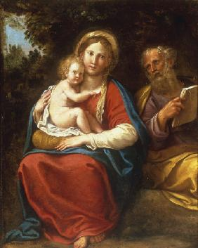 F.Albani, The Holy Family.