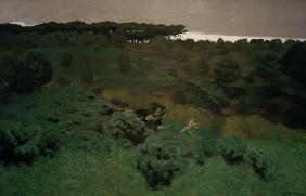 F.Vallotton, Pentheus