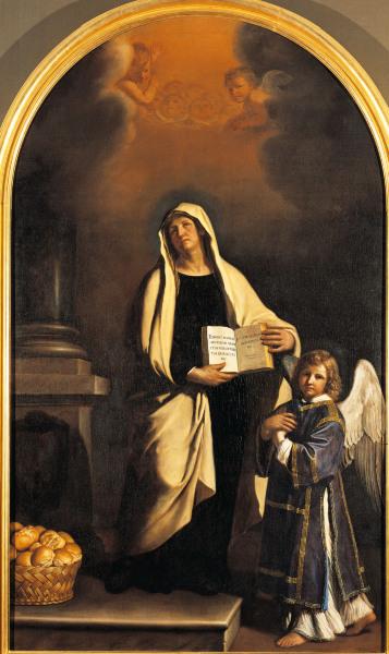 Guercino St Francesca Romana 1756 Guercino Eigentl