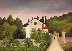 Rousseau, Henri Julien-F�lix : H.Rousseau, Banks of the O...