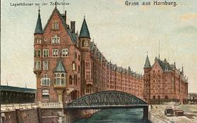 Hamburg , Storehouses