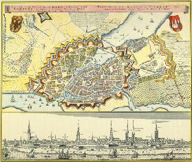 Hamburg, Town Map