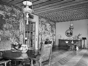 Interior of the Russell A. Alger Jr. House