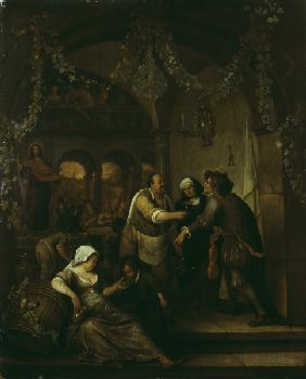 Jan Steen, The Wedding at Cana