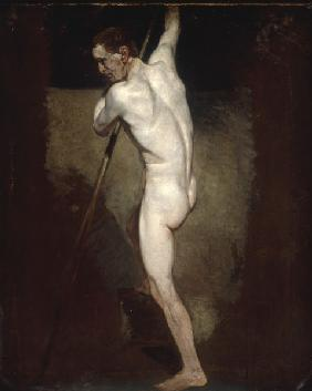 J.Constable, Male Nude, c.1808.