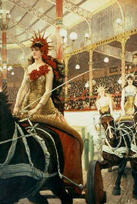 J.Tissot, The Ladies of the Cars