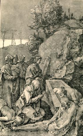 Lamentation of Christ / Dürer / 1504