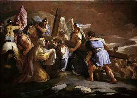 L.Giordano, Carrying the Cross