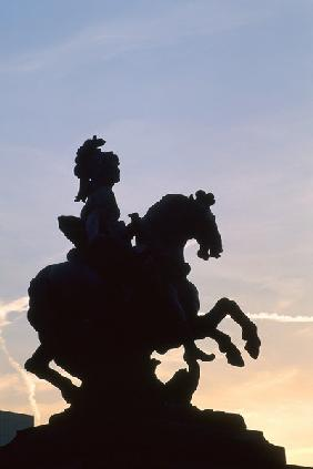 Louis XIV / Statue after Bernini / Photo
