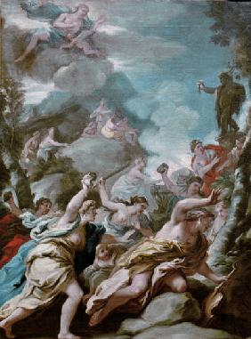 Giordano, Luca : Luca Giordano, / The Death...
