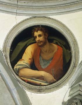 Luke the Evangelist / Bronzino / 1526