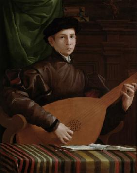 Lute player / Florentine / 16th century