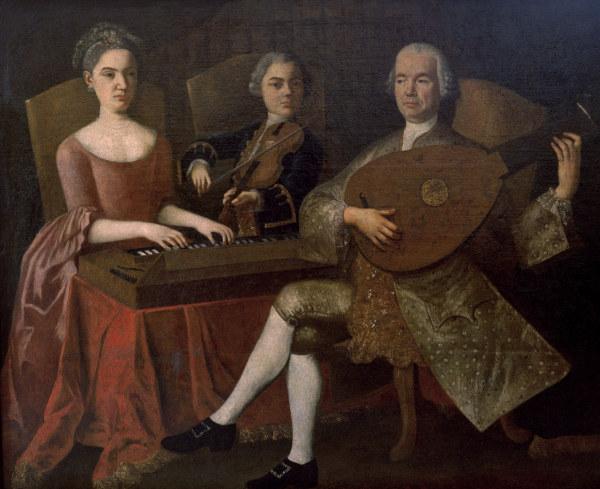 re Mozart: Family playing music - Artist Artist as art ...