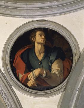 Mark the Evangelist / Bronzino / 1526