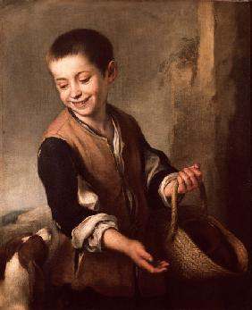 Murillo / Boy with Dog / Paint./ c.1660