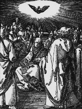 Outpouring of the Holy Ghost / Dürer