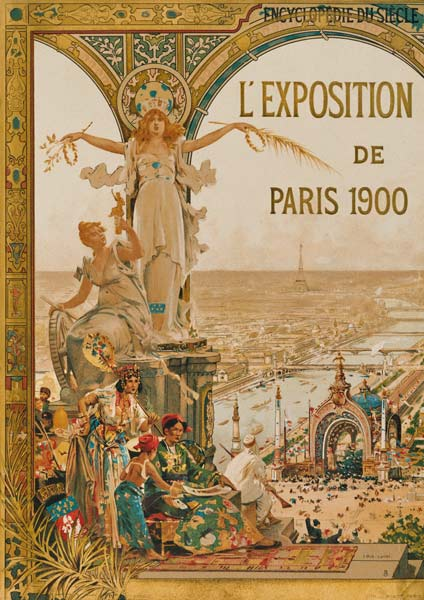 Paris, World Fair 1900, Po...