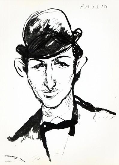 pascin pen ink artist artist as art print or hand painted oil