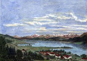 P�rtschach am W�rthersee / Engraving