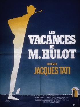 Poster after Pierre Etaix for film Monsieur Hulot's Holiday by Jacques Tati