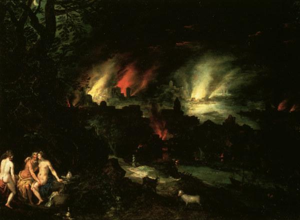 Sodom and Gomorrah / Brueghel the Elder - Jan Brueghel d ...
