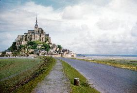 The Mont Saint Michel, France