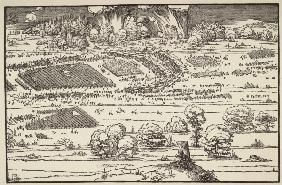 The Siege of a Citadel II / Dürer / 1527