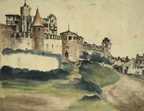 Trento Castle / Paint.by Duerer / 1495