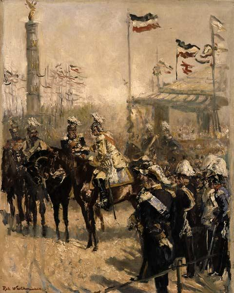 Bismarck, Unveiling of the Victors Col.