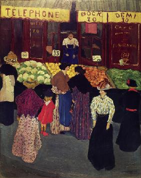 Vallotton / On the market / c.1895