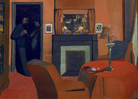 Vallotton / The red room / 1898