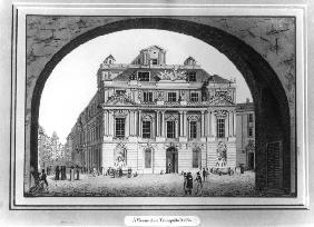 Vienna / Old University / Etching / 1825