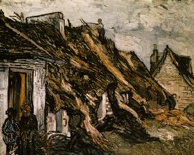 V.van Gogh, Cottages in Chaponval / Ptg.
