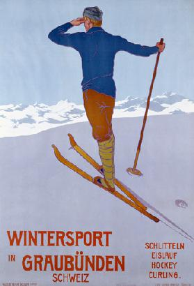 Wintersport In Graubunden