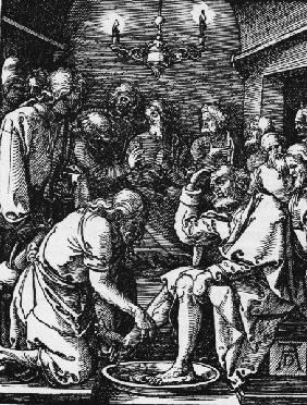 Washing of the Feet / Dürer / c.1509
