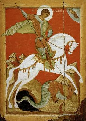 Icon of St. George and the Dragon