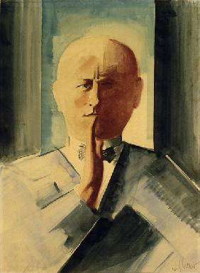 self portrait, painting