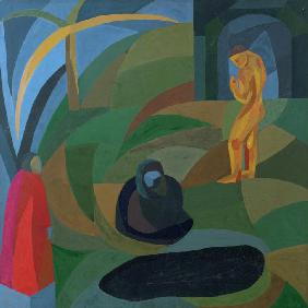 Composition with three figures