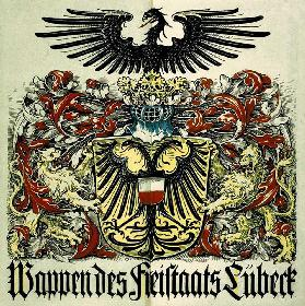 Coat of arms of the Free State of Lübeck