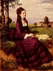 Lady in purple. 1874