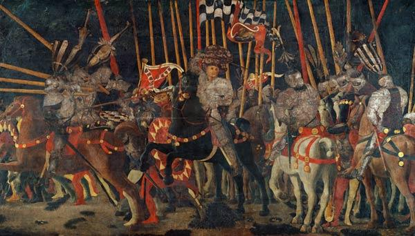 Uccello, Paolo : The battle of San Romano.
