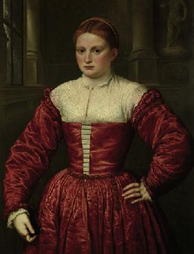 Bordone / Woman from the Fugger Family