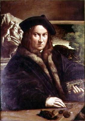 Portrait of a gentleman wearing a beret