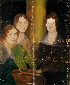 Portrait of the Bronte Sisters, c.1834