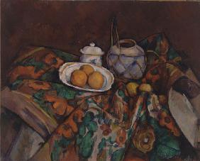 Still Life with Ginger Jar, Sugar Bowl and Oranges
