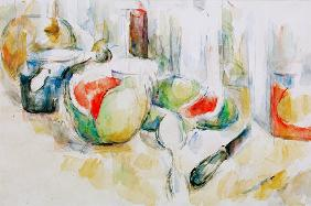 Still-life w.watermelon