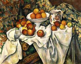 Still life with apples and oranges 1895/1900