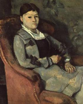 The Artist's Wife in an Armchair